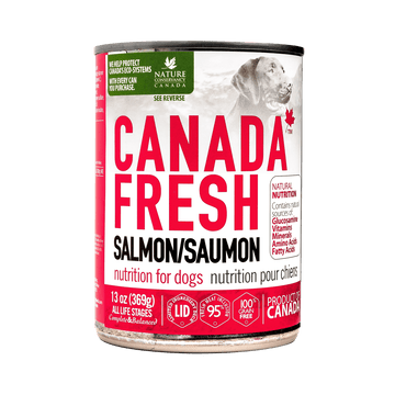 Canada Fresh Salmon Dog Canned Food 369g