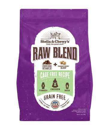 BUY 1 FREE 1: Stella & Chewy's Freeze-Dried Raw Blend Cage Free (Turkey, Chicken & Duck) Dry Cat Food