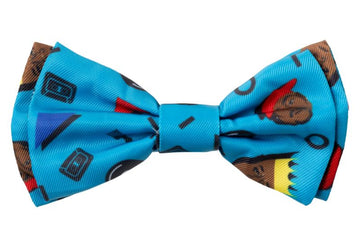 Fuzzyard Pet Bow Tie (Kings of Gold School)