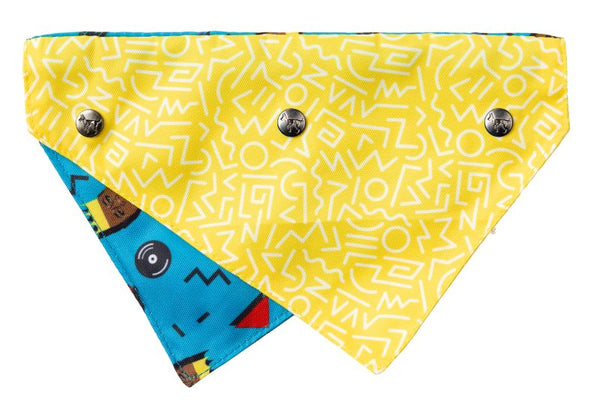 Fuzzyard Pet Bandana (Kings of Gold School)