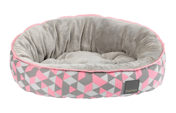 FuzzYard Reversible Dog Bed (Morganite)