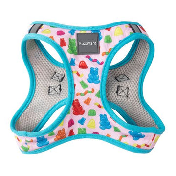 Fuzzyard Step-in Dog Harness (Jelly Bears)