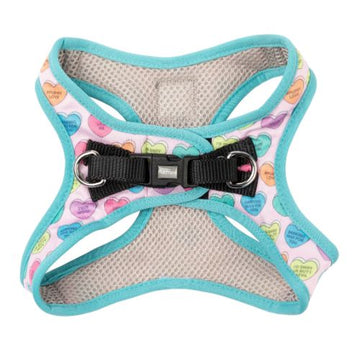 Fuzzyard Step-in Dog Harness (Candy Hearts)