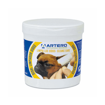 ARTERO Disposable Ears Finger Wipes for Dogs and Cats (50pcs)
