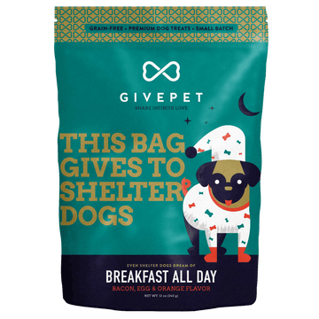 GivePet Breakfast All Day Grain-Free Cookie Dog Treats