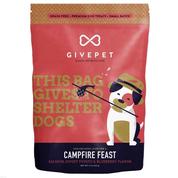 GivePet Campfire Feast Grain-Free Cookie Dog Treats