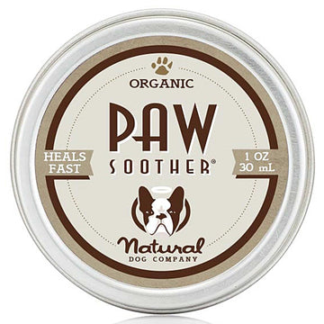 Natural Dog Company Paw Soother Organic Healing Balm