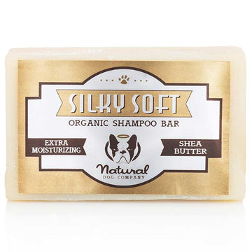 Natural Dog Company Silky Soft Organic Shampoo Bar 4oz