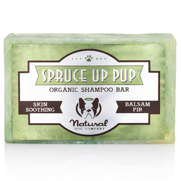 Natural Dog Company Spruce Up Pup Organic Shampoo Bar 4oz
