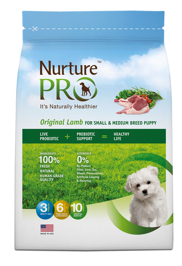 Nurture Pro Original Lamb for Puppy Small & Medium Breed Puppy Dry Dog Food