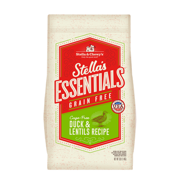 Stella & Chewy's Essentials Grain-Free Cage-Free Duck & Lentils Dry Dog Food