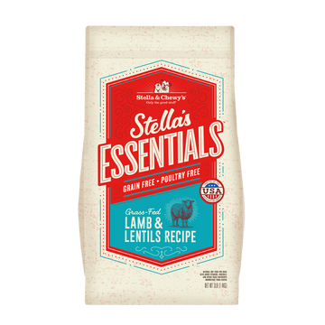 Stella & Chewy's Essentials Grain-Free Grass-Fed Lamb & Lentils Dry Dog Food