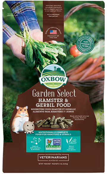 Oxbow Garden Select Hamster and Gerbil Food 1.5lb