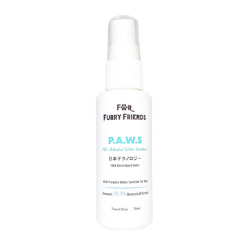For Furry Friends Pet's Activated Water Sanitizer (P.A.W.S) for Dogs, Cats and Small Animals