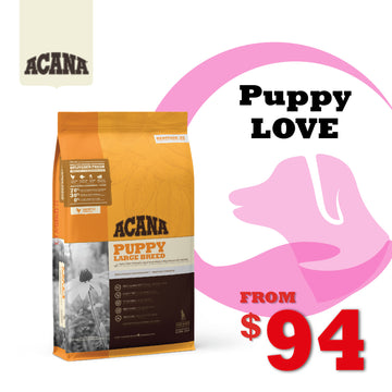 PuppyLOVE Exclusive: ACANA Heritage Puppy Large Breed Dry Dog Food