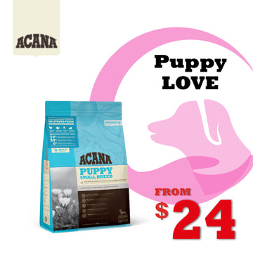 PuppyLOVE Exclusive: ACANA Heritage Puppy Small Breed Dry Dog Food