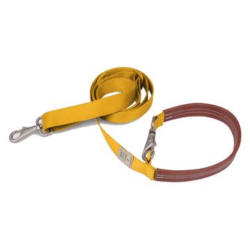 Sputnik Yellow Multi-Function Dog Leash