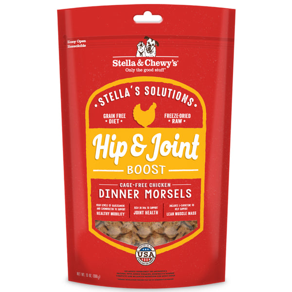 Stella & Chewy's Stella's Solutions Hip & Joint Boost Freeze-Dried Dog Food
