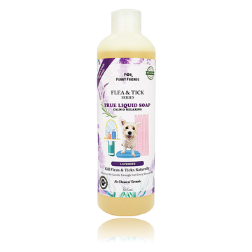 [Discontinuing Soon] For Furry Friends Flea & Tick True Liquid Soap (Lavender) for Dogs 515ml