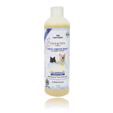 [Discontinuing Soon] For Furry Friends Flea & Tick True Liquid Soap (Sensitive Skin) for Dogs and Cats 515ml