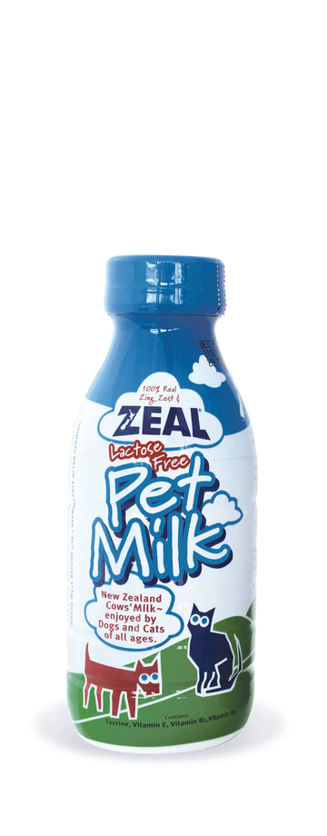 Zeal Lactose-Free Milk for Cats and Dogs (2 Sizes)