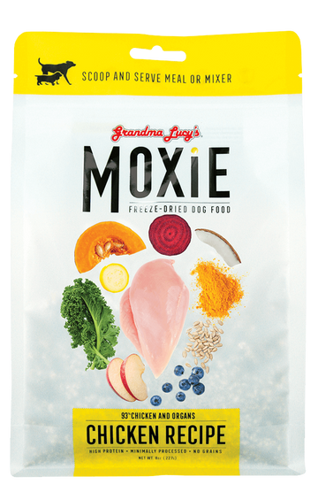 Grandma Lucy's Moxie Chicken Grain-Free Freeze Dried Dog Food