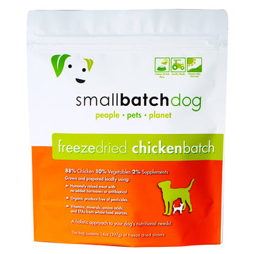Smallbatch Freeze Dried Chicken Batch Sliders Dog Food 14oz