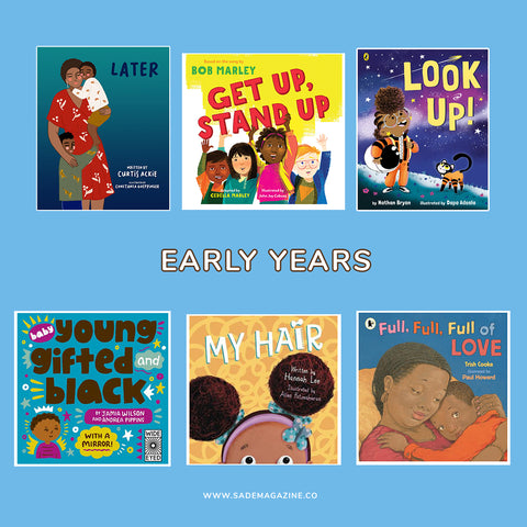 Sade book club summer reading list 2021 - Early years