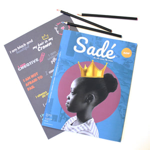 Sadé Magazine - Poster and magazine bundle