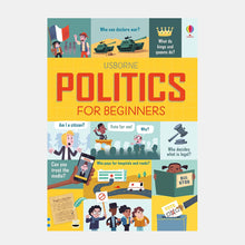 Load image into Gallery viewer, Politics for Beginners (Hardback)