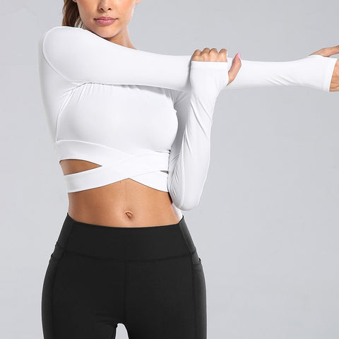 Image of The Warm-Up Crop Top