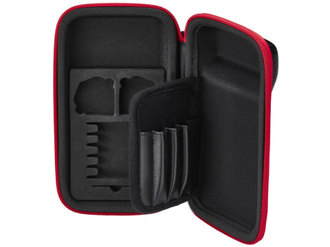 Image of Casemaster Sport Dart Case With Red Zipper