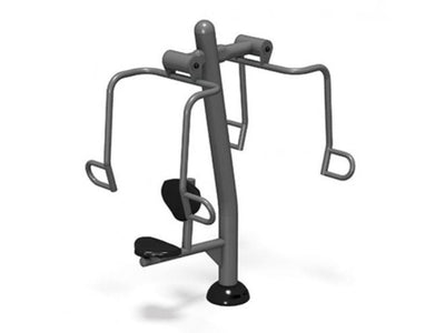 Accessible Chest Press - Outdoor Fitness