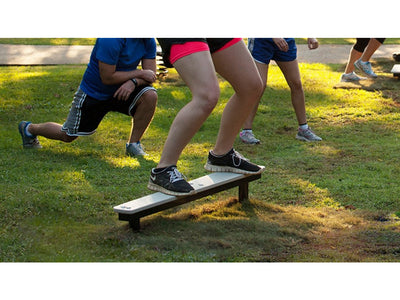 Balance Plank Station - Outdoor Fitness