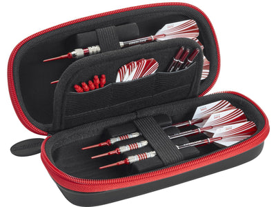 Casemaster Sentry Dart Case with Red Zipper