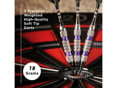 Viper Wind Runner Purple Soft Tip Darts 18 Grams