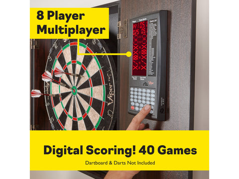 Image of Viper Vault Deluxe Dartboard Cabinet with Pro Score
