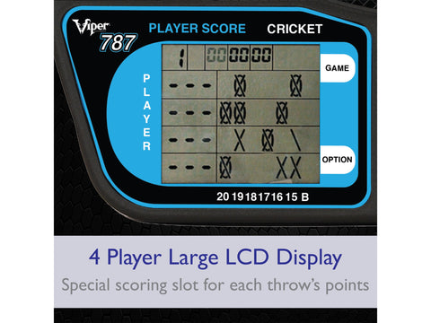 Image of Viper 787 Electronic Dartboard