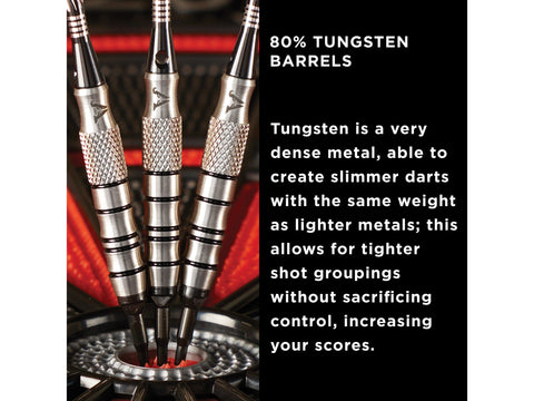 Image of Viper Grim Reaper 80% Tungsten Soft Tip Darts Black Rings