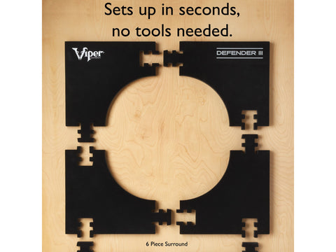 Image of Viper Wall Defender III Dartboard Surround