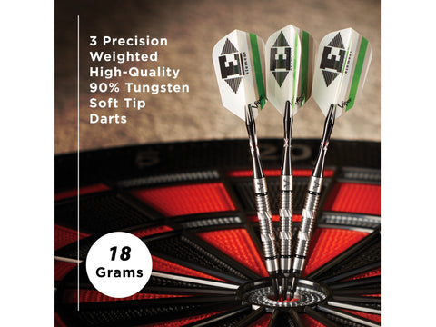 Image of Viper Element 90% Tungsten Soft Tip Darts Grooved Barrel 18 Grams