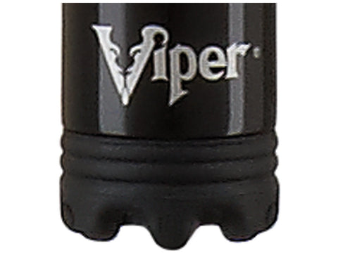 Image of Viper Sinister Series Cue with White Stripe Design