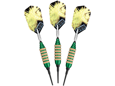 Image of Viper Spinning Bee Green Soft Tip Darts 16 Grams