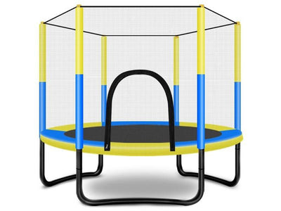 60 inch Trampoline with Safety Enclosure -Indoor or Outdoor Trampoline for Kids
