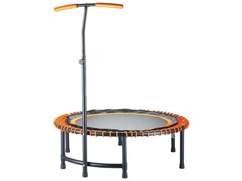 45/48 inch High quality Fitness Trampoline For Adult Women. Safety Pad. With T-Shape Handrail