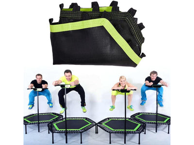 Foldable Mini Trampoline with Foam Handle For Fitness Exercise Indoor and Outdoor