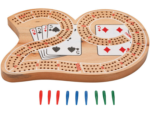 "Image of Mainstreet Classics Wooden ""29"" Cribbage Board"