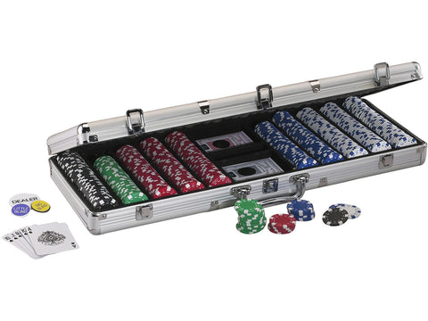 Image of Fat Cat Replacement Aluminum 500Ct Poker Chip Case