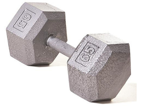 Hex Dumbbell w/ Straight Handle 65 lb
