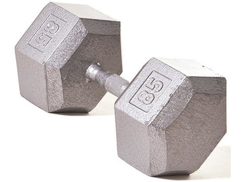 Hex Dumbbell w/ Straight Handle 85 lb